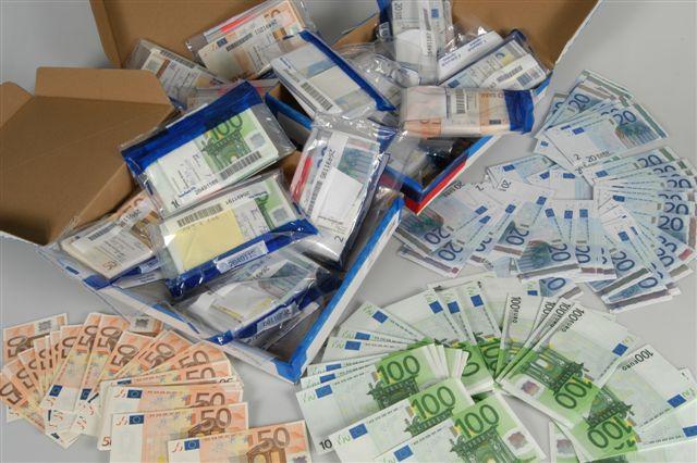 Falschgeld Sicherstellung
